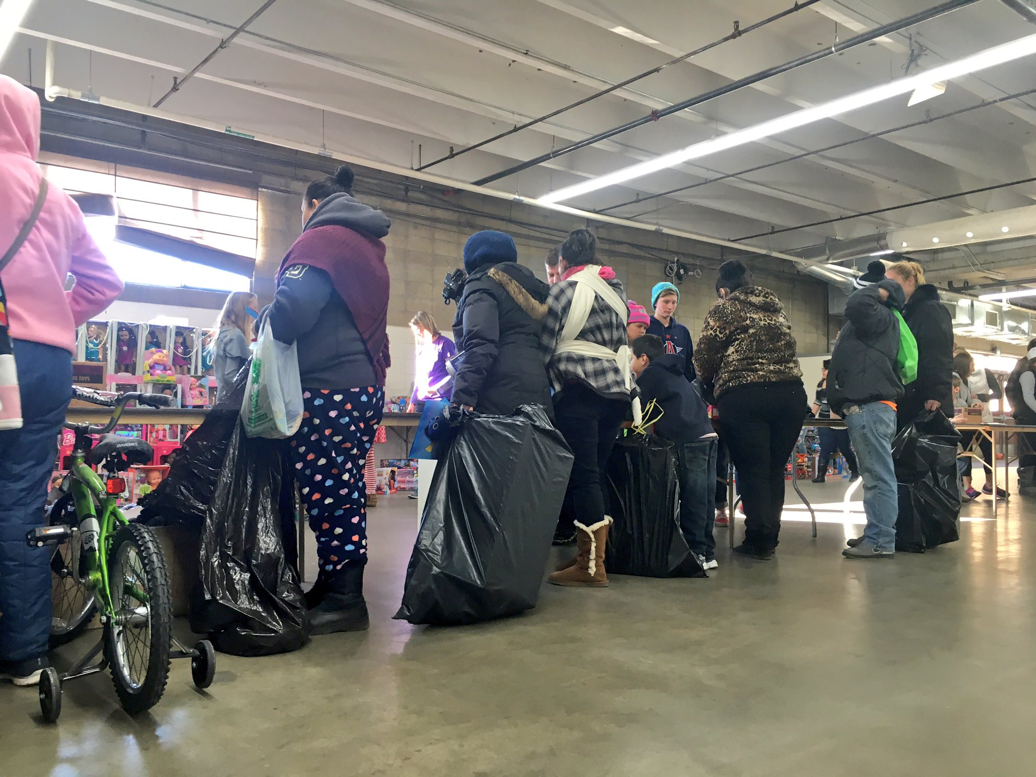 Christmas comes early for many Denver families