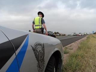 Deputy, CSP Trooper almost hit on Highway 115