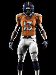 Nike Broncos #18 Peyton Manning Navy Blue Alternate Men's ...