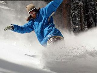 A new, easy way of getting on your snowboard