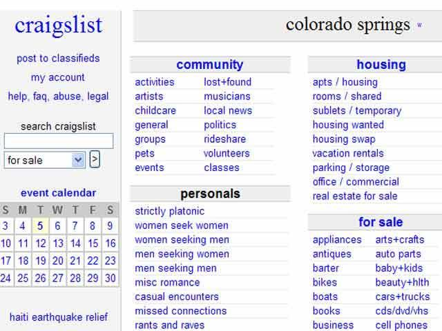 Craigslist Boulder Colorado Cars For Sale