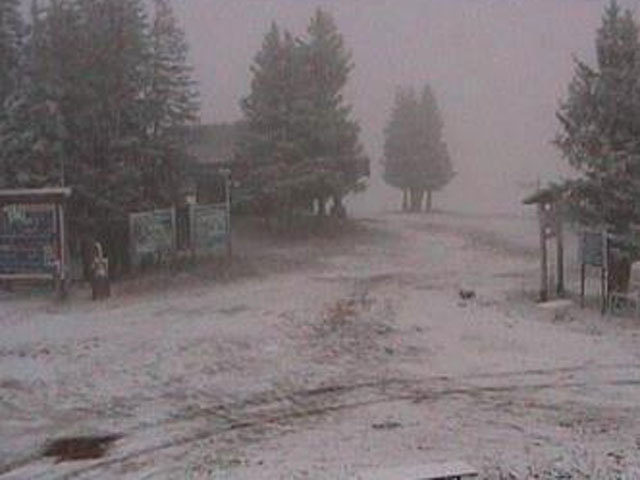 Late summer storm brings snow to colorado 39 s high country for Chair 4 cliffs vail