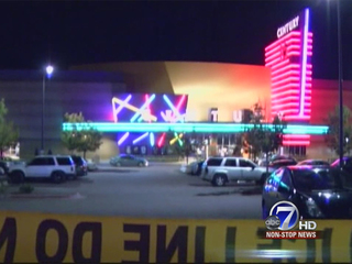 Century 16 Theater in Aurora the night of the shooting