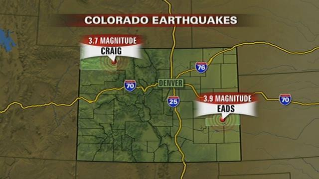 Two Earthquakes Hit Colorado Fault May Prove More