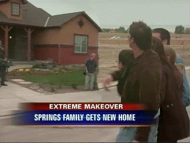 Extreme Makeover Home Unveiled In Colorado Springs - 7NEWS Denver