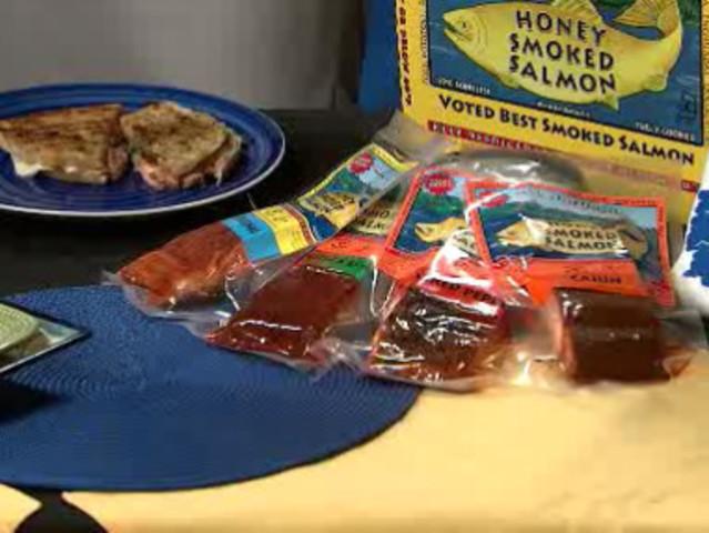 Lorraine 39 s honey smoked salmon panini 7news denver for Honey smoked fish