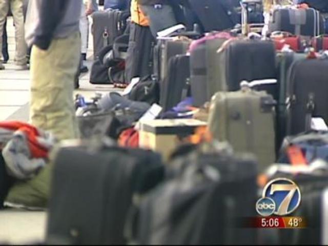how to get lost luggage back from airport
