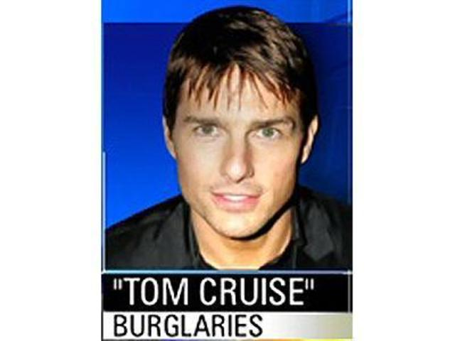Tom Cruise  BurglariesYoung Tom Cruise Look Alike