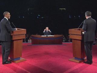 Debate skips discussion of gun violence