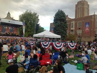 DebateFest draws 5,000 to DU campus