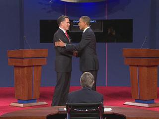The first 2012 presidential debate