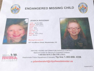 Jessica Ridgeway flier released Oct. 8