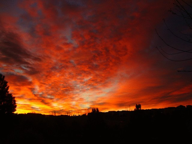 October Sunrises And Sunsets Gallery Thedenverchannel Com
