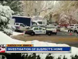 CSI combs Ridgeway suspect's home