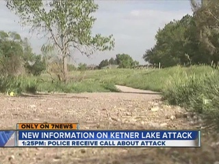 Ketner Lake suspect manhunt timeline