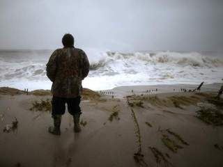 Watching Hurricane Sandy-10946