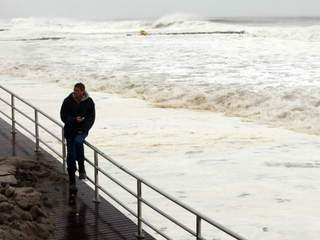 Waiting for Sandy at Rockaway Beach-10946