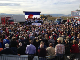 Paul Ryan's last stop in Colorado