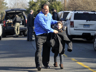 Families leave Sandy Hook