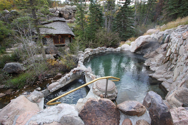 Mike Nelson S Colorado Strawberry Park Hot Springs