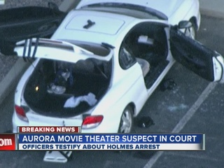 gun on top of James Holmes' car-10946