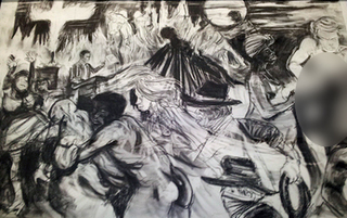 Kara Walker drawing