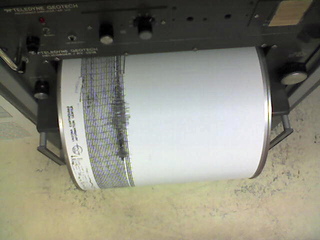 Colorado earthquake seismograph
