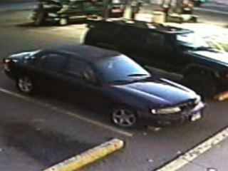 Locker room theft suspect car