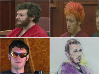 IMAGES: Changing looks of James Holmes