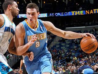 NBA-Un buon Gallinari aiuta Denver a vincere, sorridono anche gli Spurs, Detroit KO senza Datome