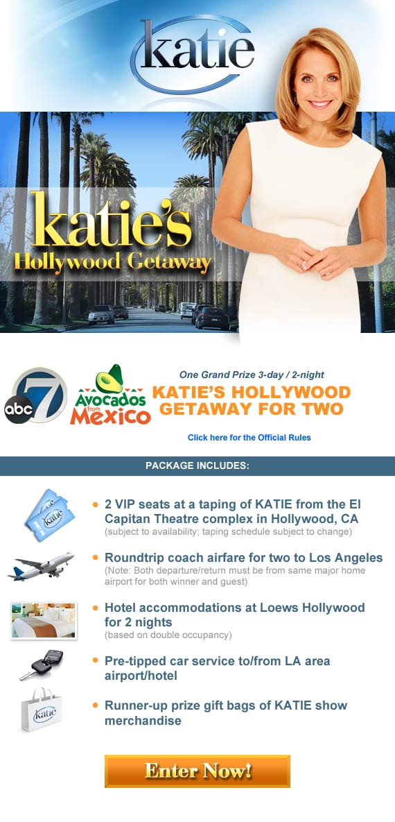 Katie Sweepstakes