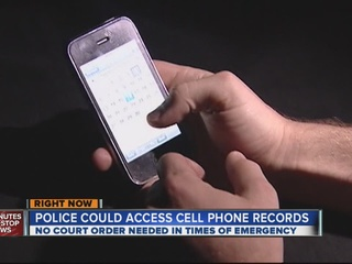 Bill could allow warrantless cell phone searches