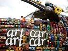 Drivers show off their decked-out cars at the 26th Annual Houston, Texas Art Car Parade
