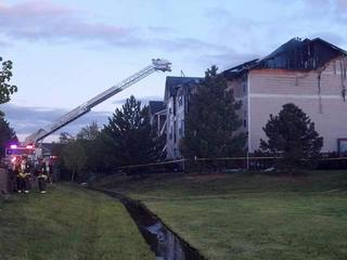 3-alarm fire burns Ft. Collins apts.