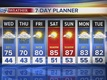Cooler Thursday, a few storms too