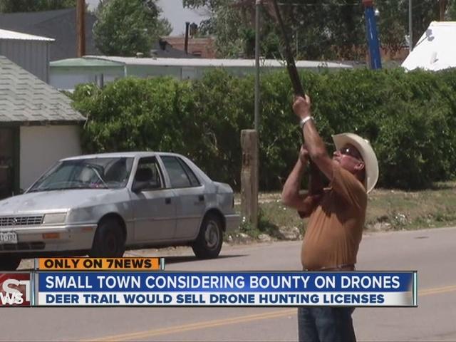 Colorado Town Proposes 100 Drone Bounty