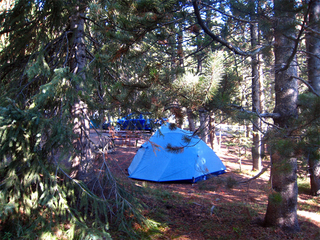 Campsites fill up ahead of holiday weekend