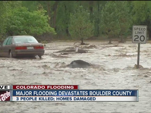 Major flooding devastates Boulder County