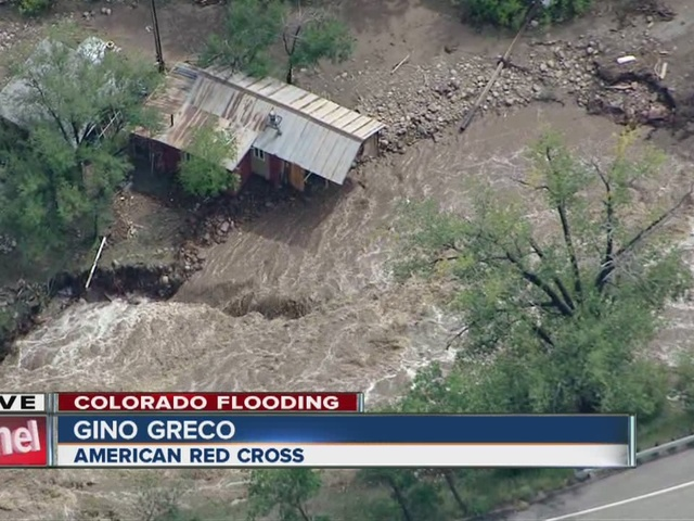 First look at the flooding in Lyons