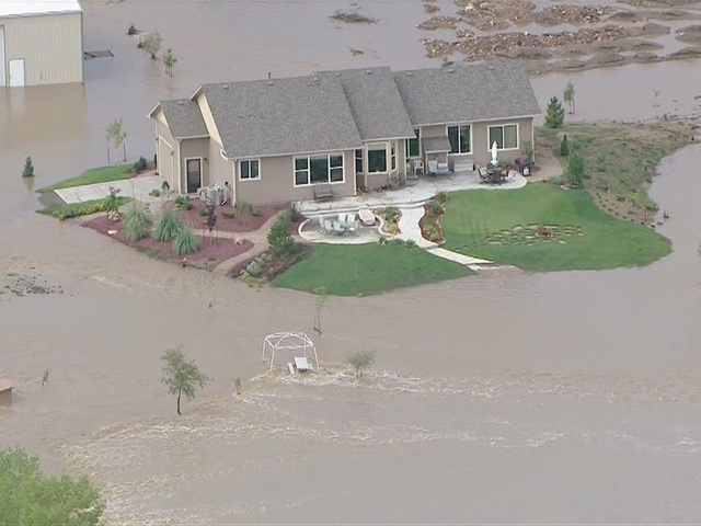 Raw video of flooding near Firestone, CO