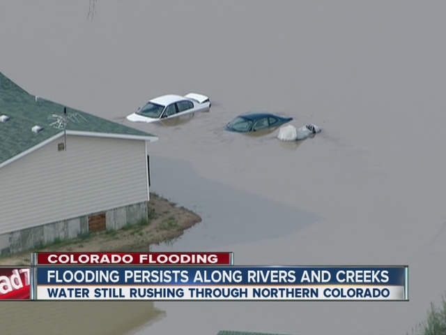Weld County flooding like a vast ocean
