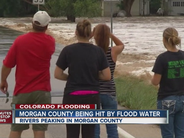 Flooding in Morgan County, main bridge threatened