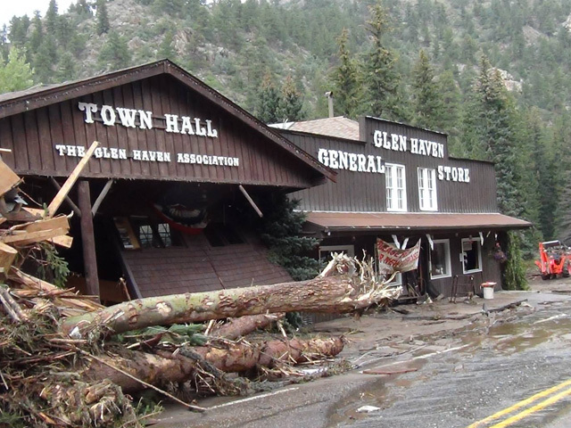 Glen Haven Town Hall Looking For Funds To Raise The Roof