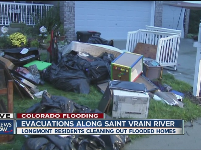 Longmont residents face flooded homes, destroyed belongings after Saint…