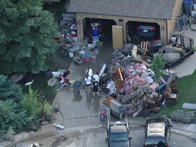 Raw video: Flood damage in Longmont