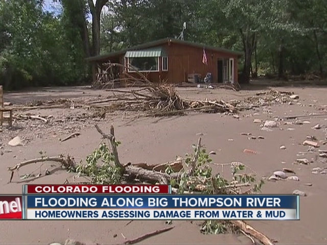 1906 home survives flood, land is ravaged