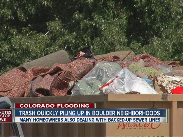 Flood fallout: Boulder battles overflowing trash, sewage