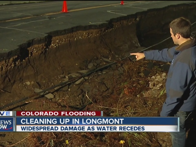 Widespread flood damage in Longmont