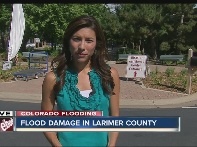 Flood damage in Larimer County