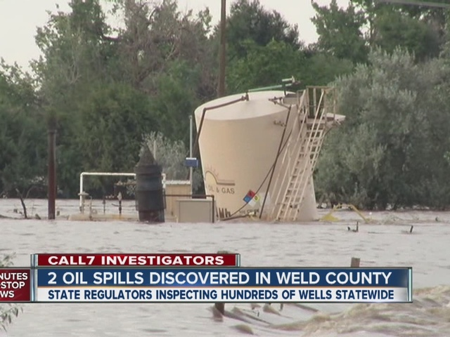 Oil tanks spill crude in Colorado flood